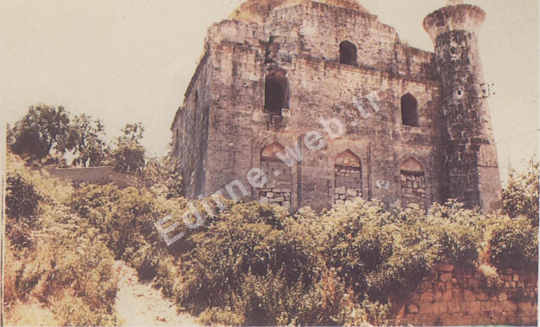 Arif Ağa Camii restorasyon öncesi