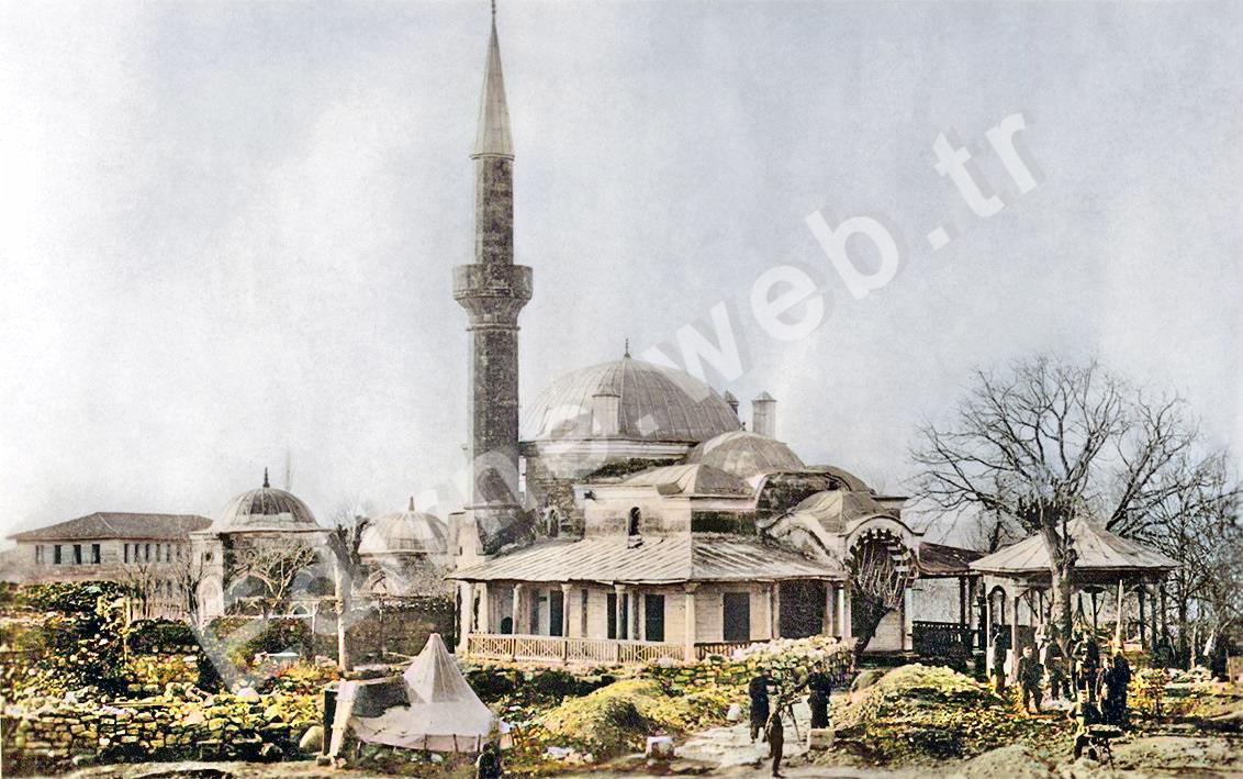 EDİRNE DARÜLHADİS CAMİİ - XX. Yüzyıl Başları-1