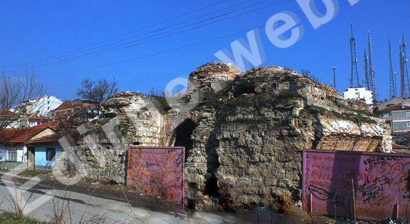 Kara İbrahim Paşa hamamı; Çokalca mahallesi
