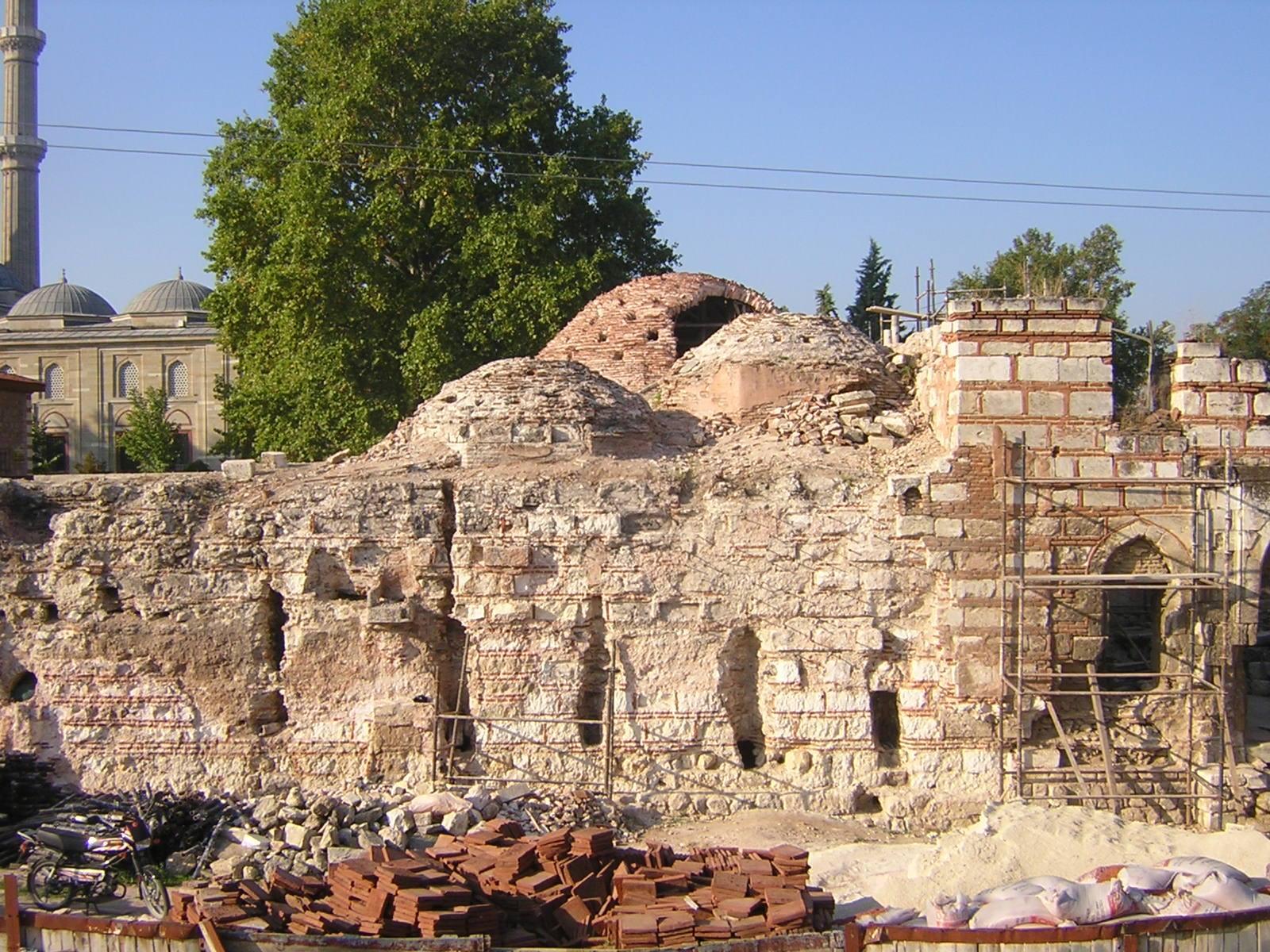 Saray Hamamı 2007-2008 restore edildi