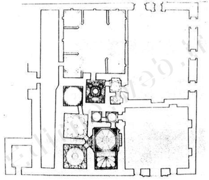 Saray Hamamı Krokisi
