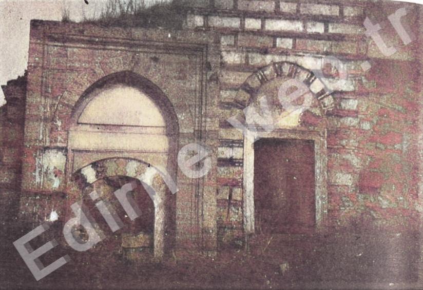 Saray Hamamı soyunmalık kapısı