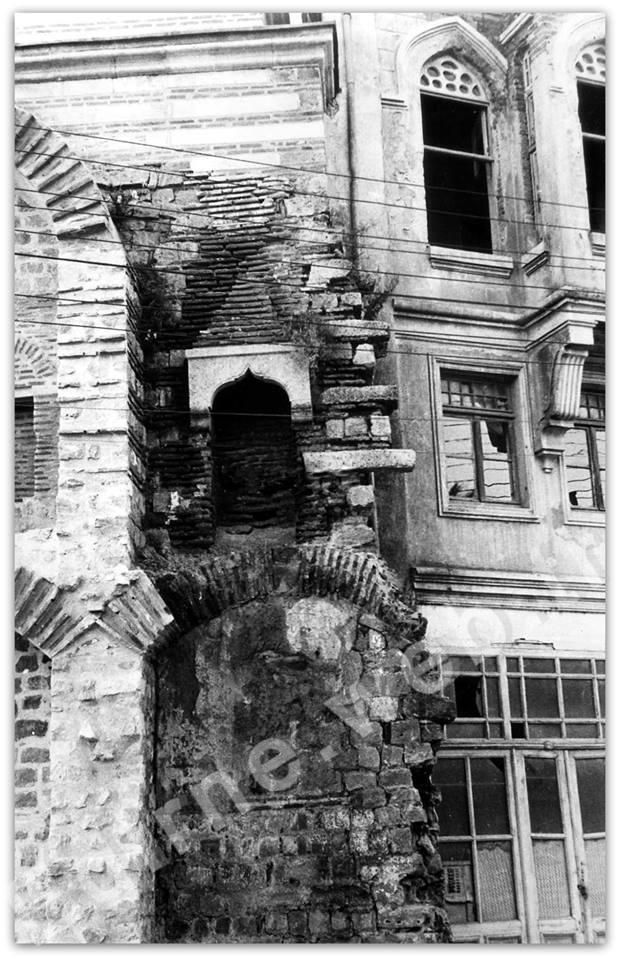 Sokullu Hamamı bitişiğindeki yapı (1940-1950 yılları)