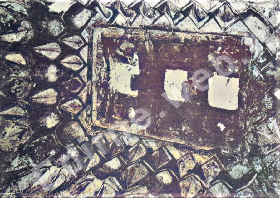 Topkapı Hamamı sıcaklık eyvan tavanı