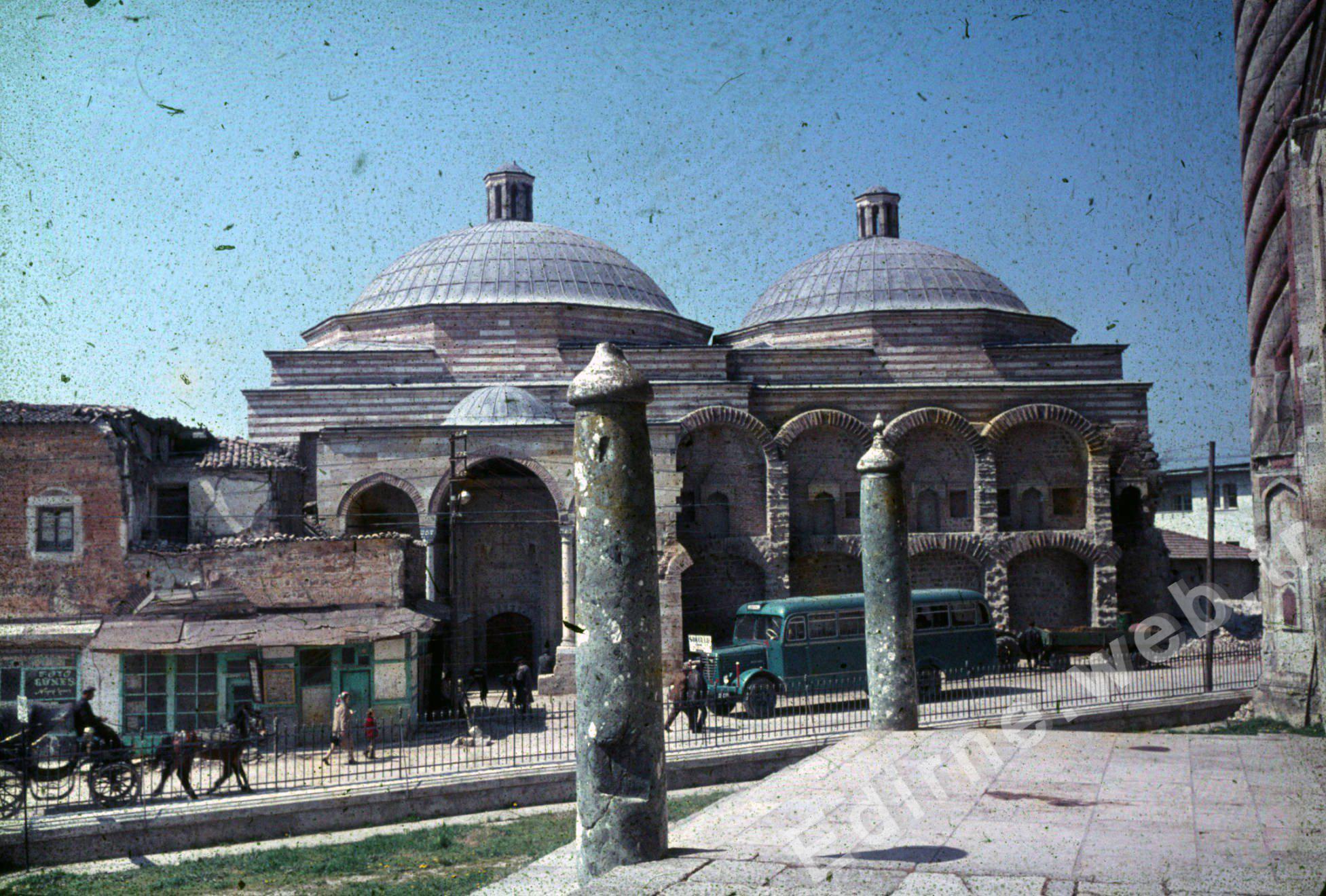Üç Şerefeli'den Sokullu Hamamı. Yıl, 1967
