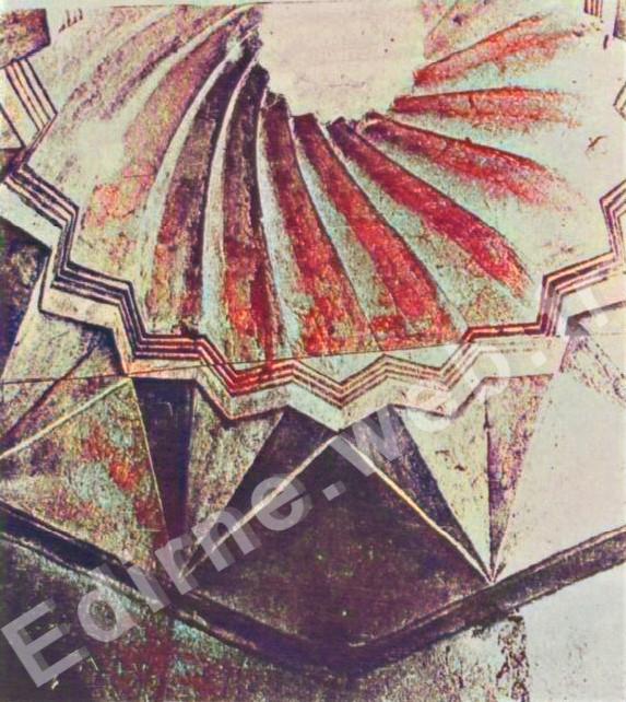 Yeniçeriler Hamamı kubbesi