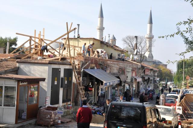 Havlucular Hanı'nın çatısının Yenilenmesi(07.11.2013)